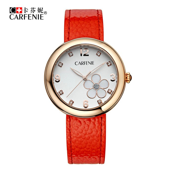 Genuine Leather Wrist Watch/Japan Movement Quartz Watch/High Quality Women Watch