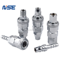 NISE air quick coupling pneumatic quick coupler chrome plated steel