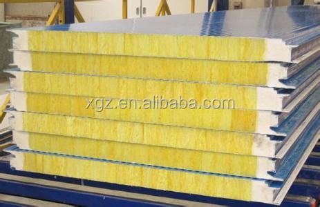 Fiber glass sandwich panel for prefab house/ceiling/wall panel