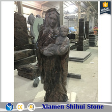 Hand Carve High Quality Granite Mother Mary Statue Virgin