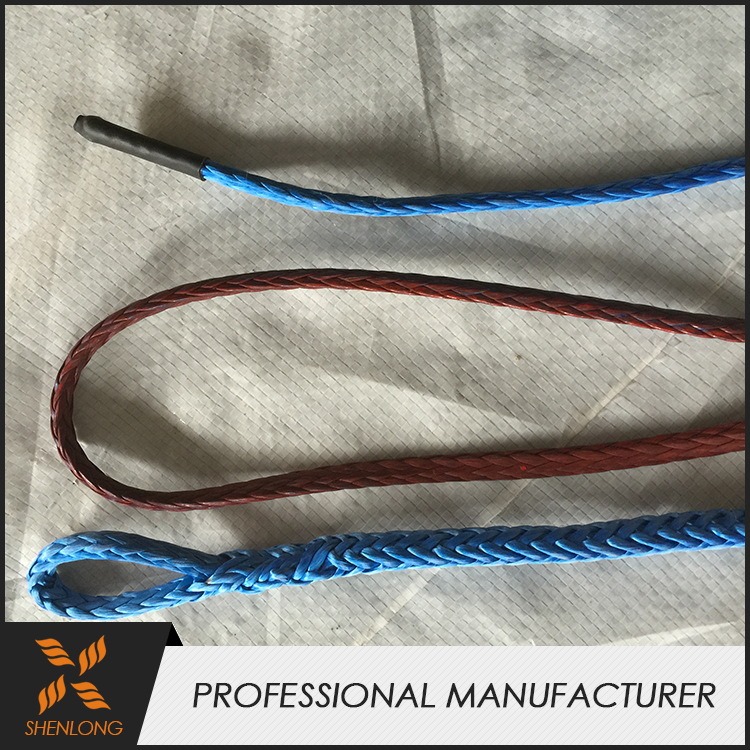 China supplier Hot sale cheap synthetic ropes for heavy paraglider winch towing rope