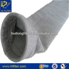 550G PE Dusting filter bag With Non-ferrous metal production industries electrostatic dust collector