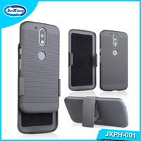 2016 China Supplier Slide Mobile Phone Holster Combo Case for Moto G4