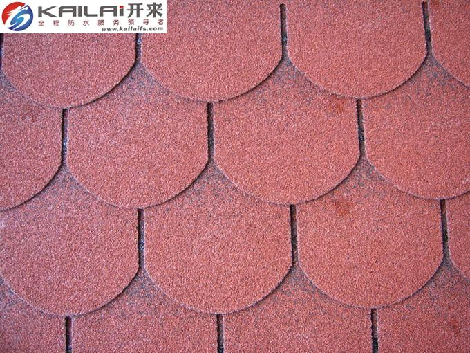 KLAI-201 colorful fish-scale asphalt shingles