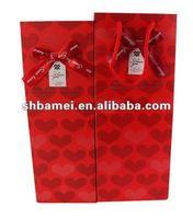 art paper glossy laminated shopping bag