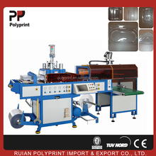 PS/PVC/PET plastic type biscuit container thermoforming machine