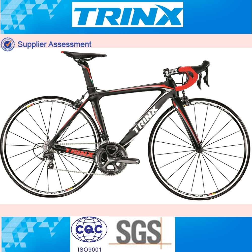 TRINX TOP RANK SUPER LIGHT COMPLETE CARBON FIBER FRAME ROAD BIKE FOR SALE