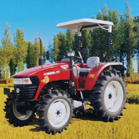chinese small farm tractors 70hp 4wd agricultural farm tractor