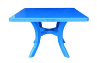 Popular removable Square plastic dining table