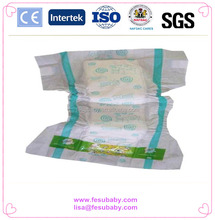 KL1042 2017 Hot Sell PE Baccksheet Good Quality Baby Diaper For India Market