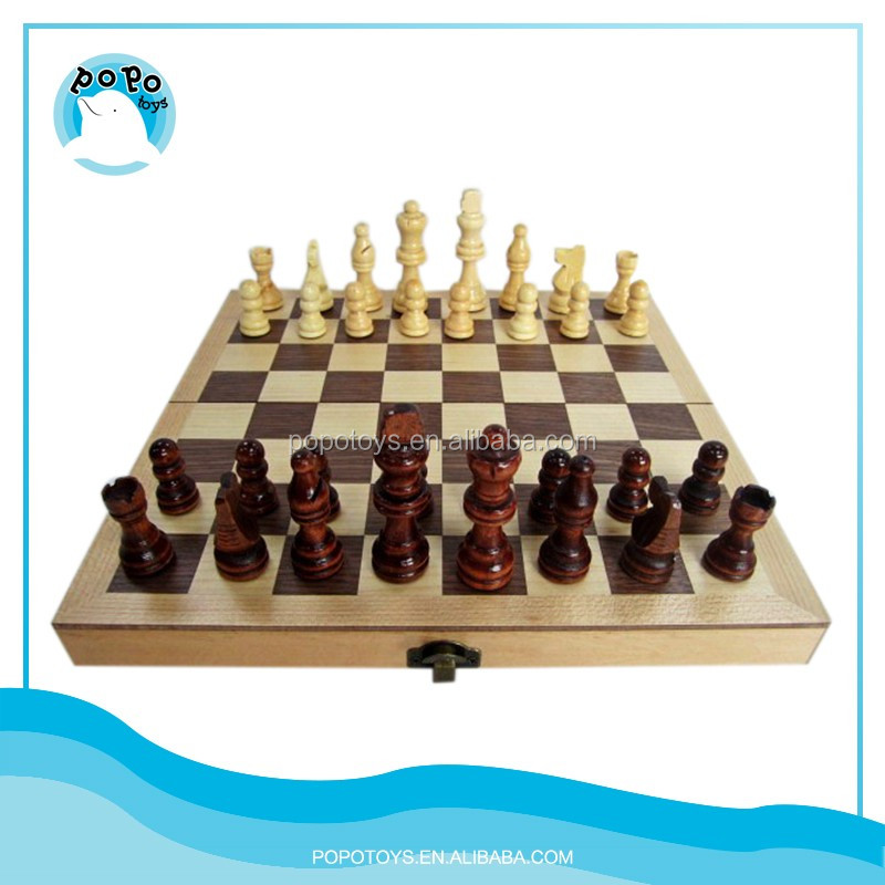 Wood chess game set kid wood toy in best price buy wood Where can i buy a chess game