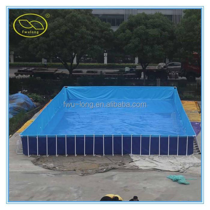 Ao ar livre port til retangular grande piscina infl vel do for Piscina portatil grande