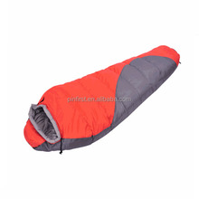 Double thick winter sleeping bag adult sleeping bags outdoor camping ultralight sleeping bag lunch break lock temperature