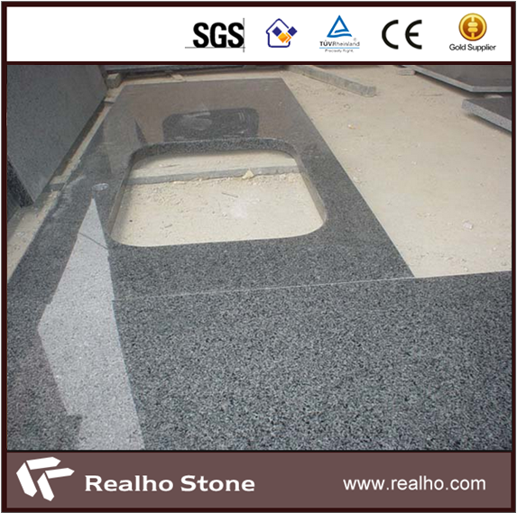 Hot Sale Round Edge G654 Granite Kitchen Countertops