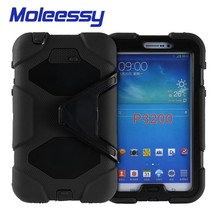 Hot selling ,wholesales kids child proof 7 inch tablet case for Samsung P3200/Tab 3