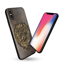New Design 3D Animal Cell Phone Case For iPhone X