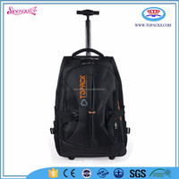 hot sale fashion laptop backpack with wheel