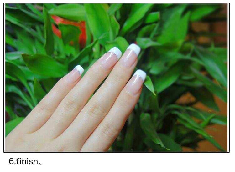 Venta privada nail art pen set francés diseño de salón de uñas de ...