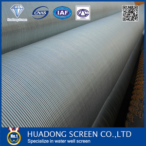 High precise deep well stainless steel Rod base screen (manufacture)