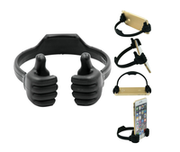 Thumb up hand shape cell mobile phone holder