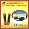 Weatherproof Encapsulating Silicone Sealant For Glass Windows