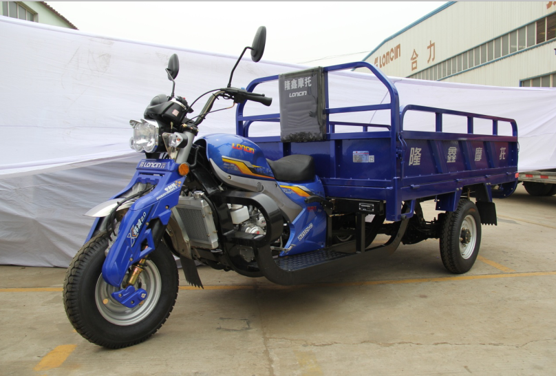 Loncin 3000kg 150cc/175cc/ 210cc/260cc super heavy load adult gasoline cargo truck tricycle/motorcycle truck 3-wheel motorcycle