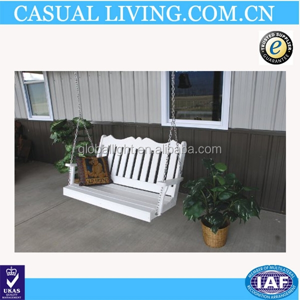 Garden Furniture Recycled Plastic Porch Swing