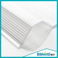 China Plastic Products Roof Green House Polycarbonate Corrugated Sheet