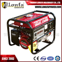 Backup Gasoline Power Generator 2KVA Portable Gasoline Generator 5.5HP ELEMAX Portable for Africa