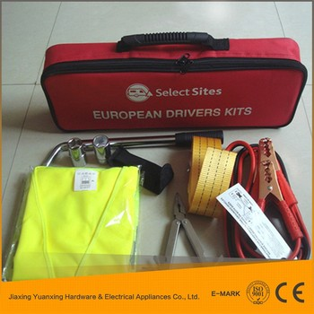 Hot Sale China Alibaba Automotive Tool , Car First Aid Tool Kit