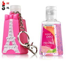 Wholesale bbw pocketbac silicone hand sanitizer gel cover