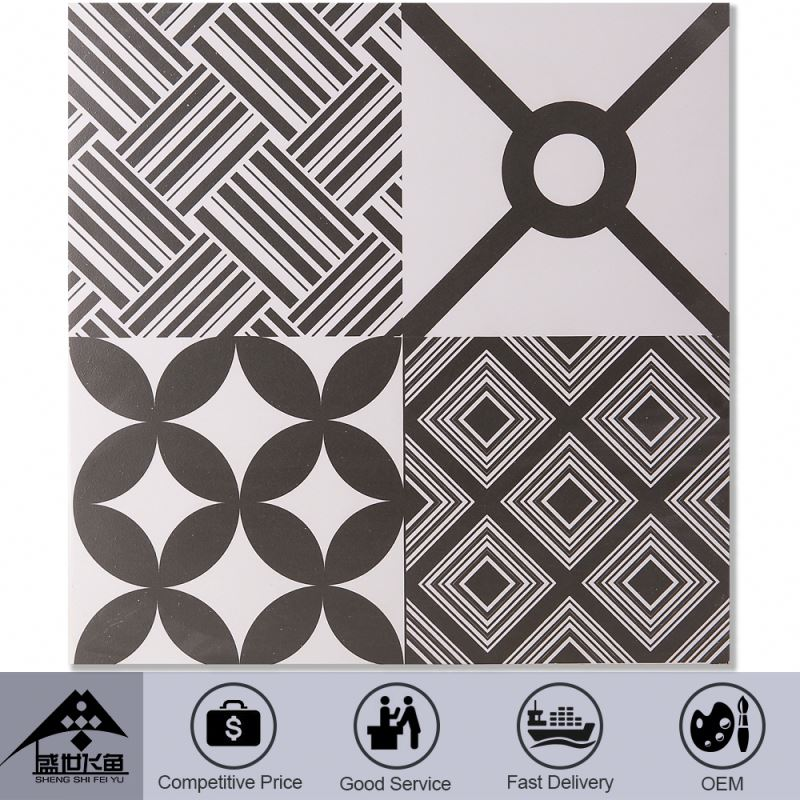Best Choice! High-End Handmade Nice Design Oem Production Competitive Price Ceramic Floor Tile Shapes