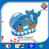 new design amusement park pirate ship, hot sale dolphin pirate ship house