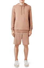 H7 Classic Fit Drawstring Hood Kangaroo Pockets Cotton Plain Hoodie Sweat Suits