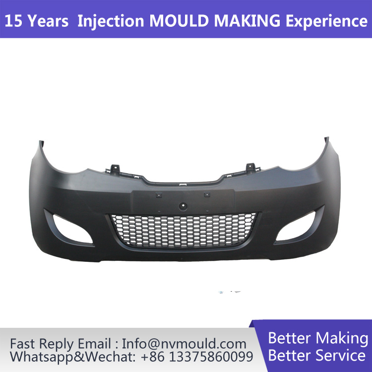 Car brand market selling product Taizhou Huangyan Auto parts mould car bumper mould