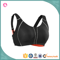 Fully custom made padded crane sports bra wear OEM service supported factory