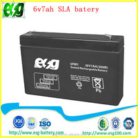 Security system 12v7ah Solar battery maintenance free AGM battery