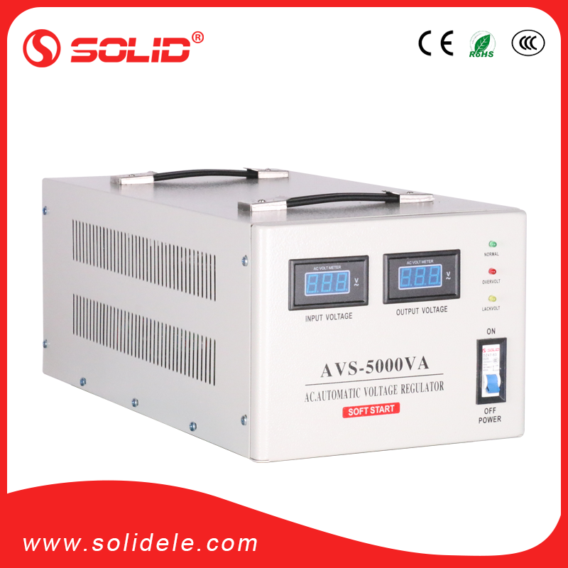 SOLID ELECTRIC AVS series 5kw avr automatic voltage regulator