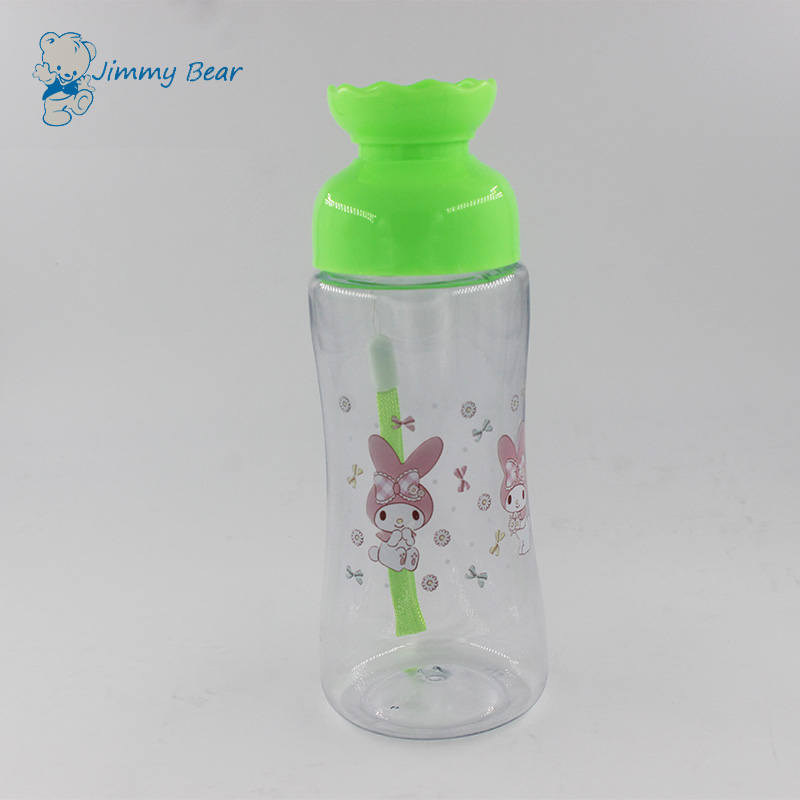 Cheap 300ML plastic portable water bottle for kids