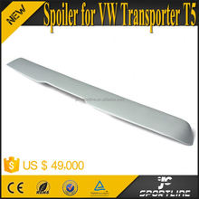 Gray FRP Caravelle Roof Spoiler for VW Transporter T5 Caravelle Facelift 14-15