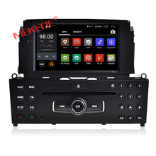 4G wifi android 7.1 system remote contro car dvd player for b enz C class w204 with steer wheel control