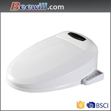 Hygienic electric toilet seat automatic cleaning