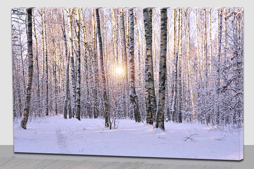 Home Depot Illuminated Canvas : Wholesale home decor natural landscape picture led lighted
