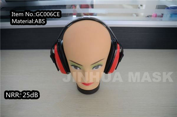 CE EN 352 ABS Material High Quality Sound Proof Earmuffs
