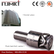 NJMKT high quality stainless steel anchor bolt used in stone fixing system CE