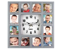 Changeable Photo Frame Clock