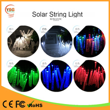 Factory Price Holidays Party Outdoor Garden Decoration led solar string lights