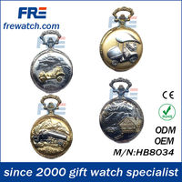 wood pocket watch alloy pocket watch wholesale