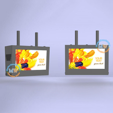 43 Inch Ip65 Waterproof Roof Mount Outdoor Double Sided Lcd Display
