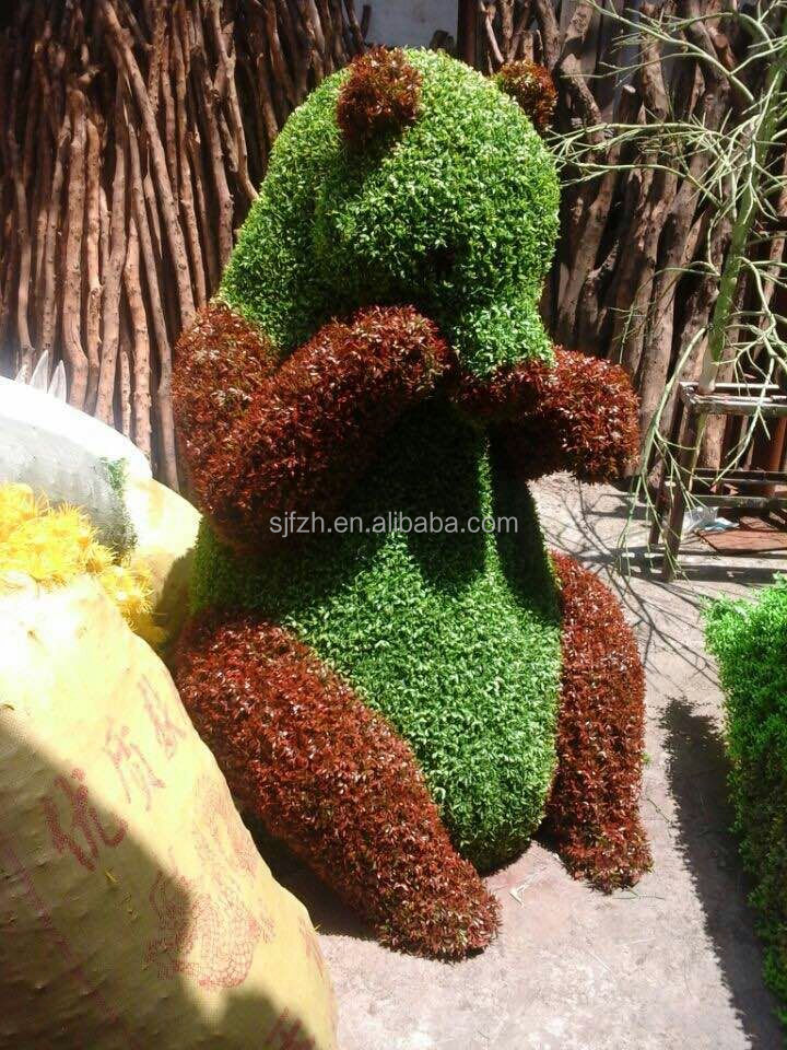 wholesale SJ Factory topiary wire frames artificial topiary animal for park decoration